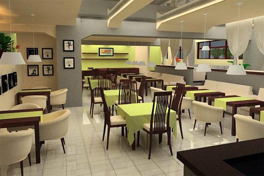 Дизайн проект бара-ресторана