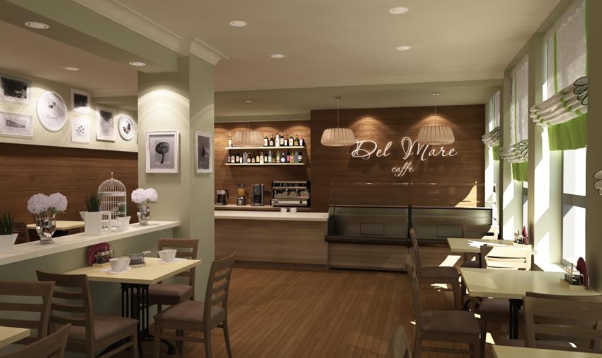 Дизайн-проект кафе - Energy Стоимость дизайн проекта кафе